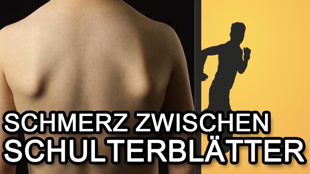 Rückenschmerzen linkes schulterblatt